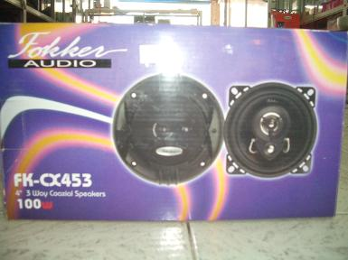 "ลำโพงFokker audio FK-CX 453 4"" 3way"